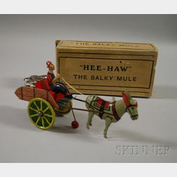 Marx Hee-Haw the Balky Mule with Original Box