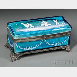 Mary Gregory Jewelry Casket