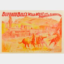 Buffalo Bill's Wild West and Pioneer Exhibition   Poster