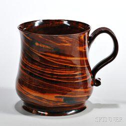 Glazed Solid Agate Ware Ale Pot