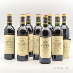 Chateau Meyney 1989, 8 bottles