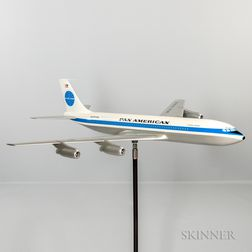 Pan American Boeing 707 Airplane Aviation Model