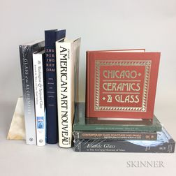 Eight Reference Books on Glass and Ceramics