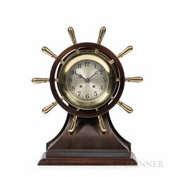 "Chelsea ""Mariner"" Yacht Wheel Clock"