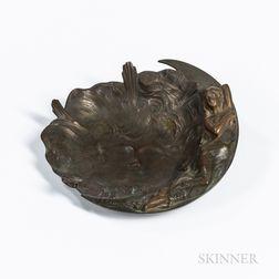 Bronze Vide Poche After Jean Garnier (French, 1853-1910)