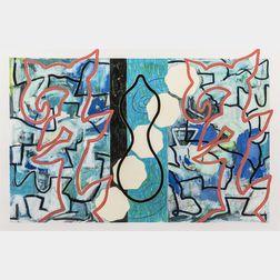 Anne Krinsky (British, 20th/21st Century)      Abstract.