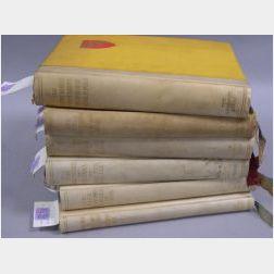 Argonaut Press,   Six Titles