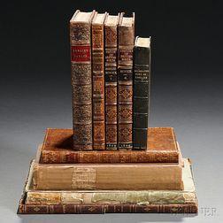 Bewick, Thomas (1753-1828), Illustrator, Nine Volumes.