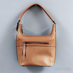 Gucci Camel Leather Hobo Bag