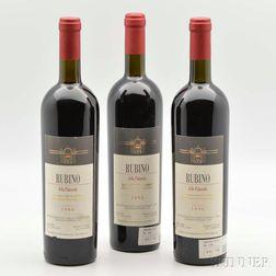 Grilli La Palazolla Rubino 1996, 9 bottles