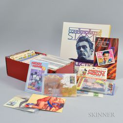 Extensive Collection of Modern Stamps, First Day Covers, and Postcards