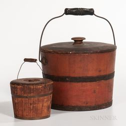 Two Covered Pails