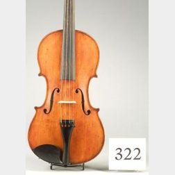 American Violin, Andrew Hyde, 1880