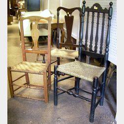 Three 18th Century Chairs