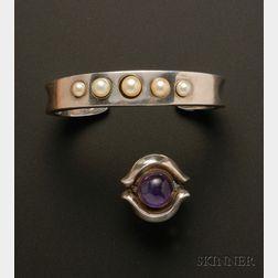 Antonio Pineda Bracelet and Ring