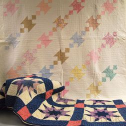 Two Pieced Cotton Quilts