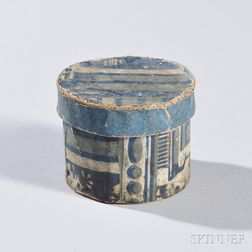 Small Round Wallpaper Box