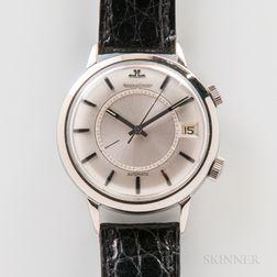 "Jaeger LeCoultre Automatic ""Memovox"" Wristwatch"