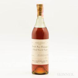 Domaine de la Voute Grande Fine Champagne Cognac 1er Grand Cru de Cognac, 1 4/5 quart bottle