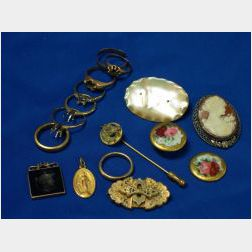 Sixteen Pieces of Assorted Jewelry and Accessories
