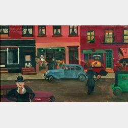 Laura Starr Parsons (American, b. 1915)    Paul's Market