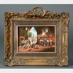 Tableau Mécanique Automaton of a Blacksmith's Forge by Tharin