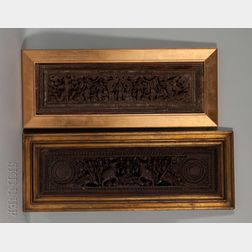 Two Framed Lintel Friezes