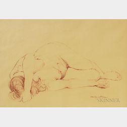 Five Framed Works on Paper:      Leonel Góngora (Colombian, b. 1932), two etchings: La Recamara Amorosa