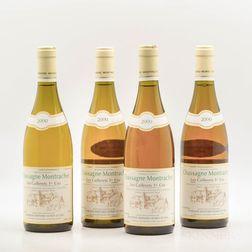 Bernard Morey Chassagne Montrachet Les Caillerets 2000, 4 bottles