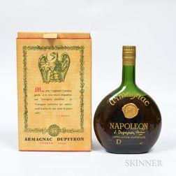 Dupeyron Armagnac Napoleon, 1 bottle