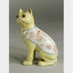 English Earthenware Bulldog Figure