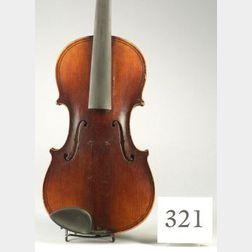 Modern German Violin, Eduard Reichert, Dresden, 1908
