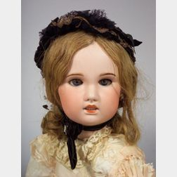 Large SFBJ Bisque Head Doll