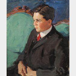 Margaret Jordan Patterson (American, 1867-1950)      Portrait of a Young Man