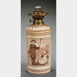 Wedgwood Thomas Allen Design Oil Lamp