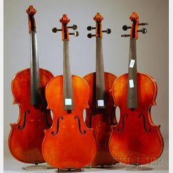 Four Modern German Violas