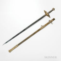 Brigadier General Kenner Garrard's Presentation Sword from the 146th New York Volunteer Infantry Regiment After Gettysburg