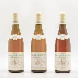 Bernard Morey Chassagne Montrachet Les Embrazees 2000, 3 bottles