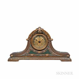 Chelsea Plaster of Paris Tambour Shelf Clock