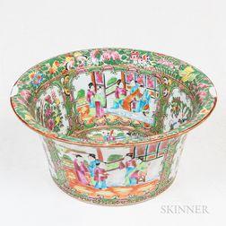 Large Rose Medallion Bowl