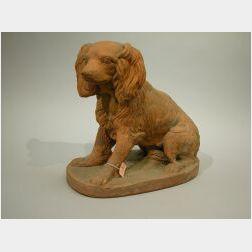 Italian Terra Cotta Dog.