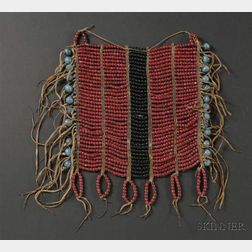 Southern Plains or Ute Beaded Breast Plate