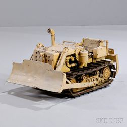 Mechanical Model of a Bulldozer