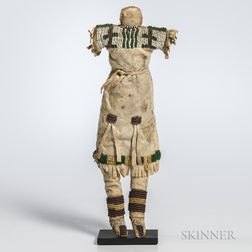 Northern Plains Hide Doll,