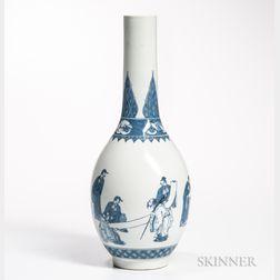 Hirado Blue and White Vase