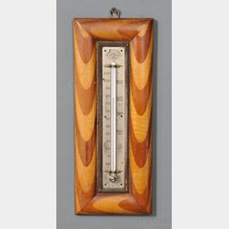 """A.J. DODGE PETERBORO, N.H."" Marked Thermometer"