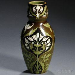 Keller & Guerin Art Nouveau Vase