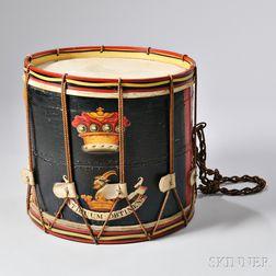 British Rope Tension Bass Drum