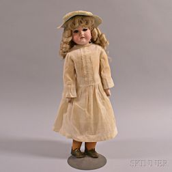 "Armand Marseille ""Florodoro"" Bisque Shoulder Head Doll"