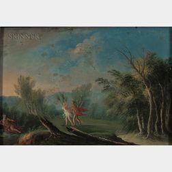 Italian School, 18th Century      Apollo and Daphne